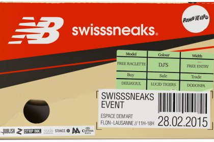 L'interview chaussons pour le Swisssneaks