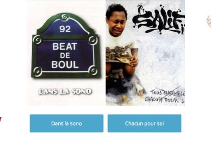 Le meilleur album de rap français ? Beat de Boul vs Salif