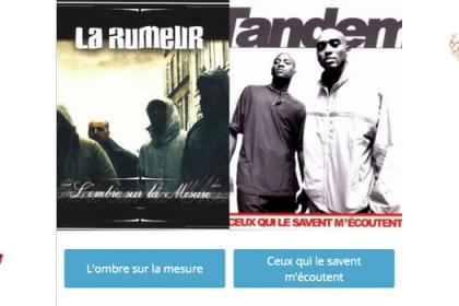 Le meilleur album de l'histoire du rap français ? La Rumeur vs Tandem