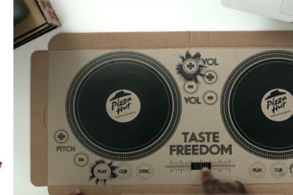 Si leurs pizzas étaient autant bonnes que leur marketing…