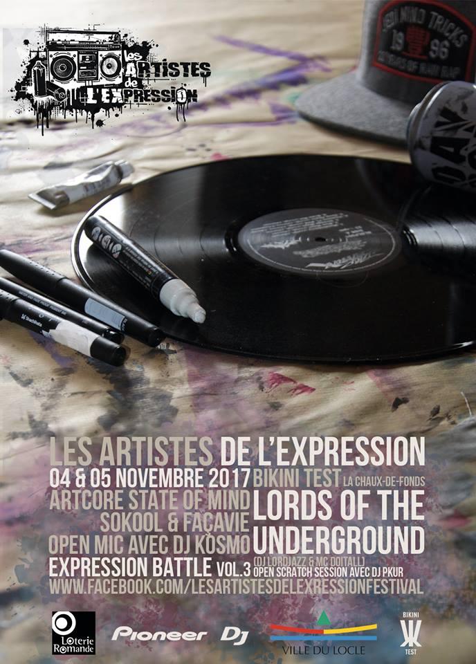 Les Artistes de l'Expression Festival 3ème édition